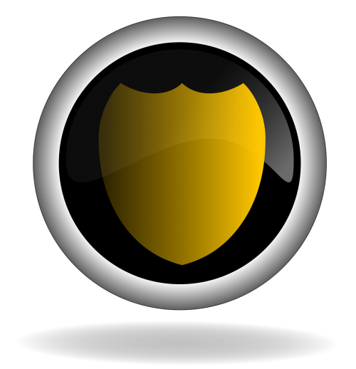 protection shield button