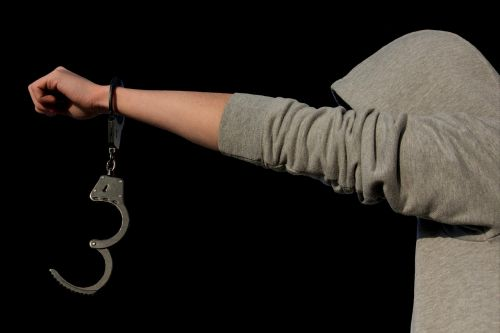protection of minors criminal handcuffs