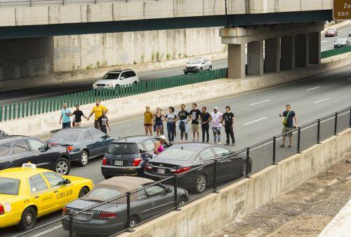 protest highway i83