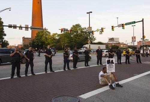 protest black lives matter sign