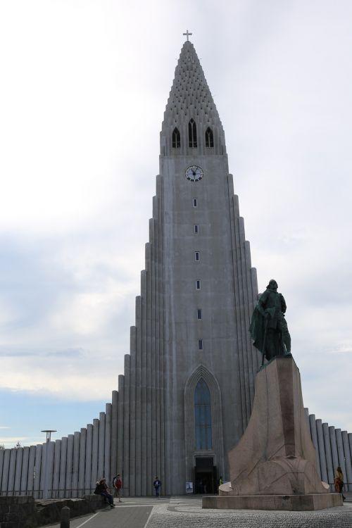 protestant church the city centre rejkjavik