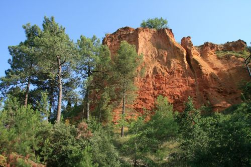 provence landscape summer