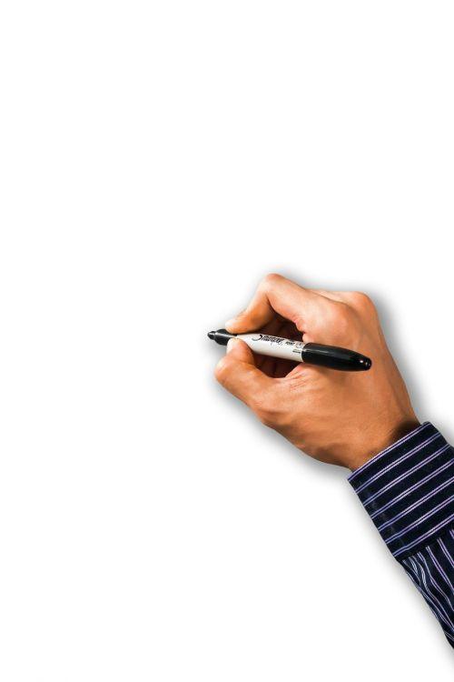 psd writing hand write
