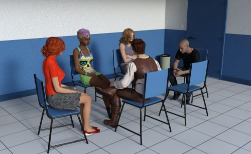 psychotherapy session group