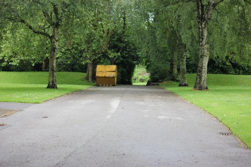 Public Park Path