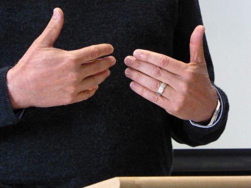 Public Speaking Hand Gestures #3