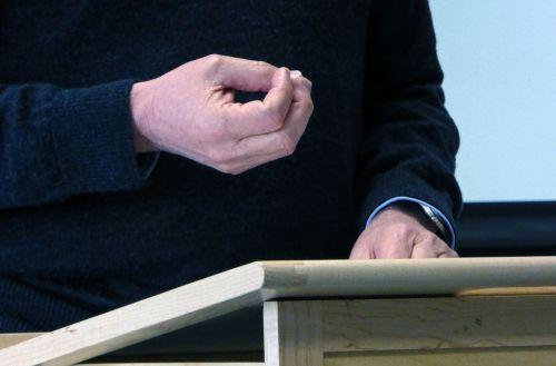 Public Speaking Hand Gestures #5
