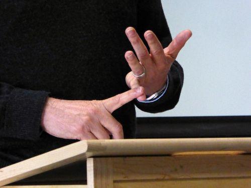 Public Speaking Hand Gestures #6