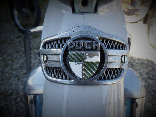 puch  old  two wheeled vehicle