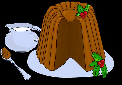 pudding  christmas pudding  chocolate pudding