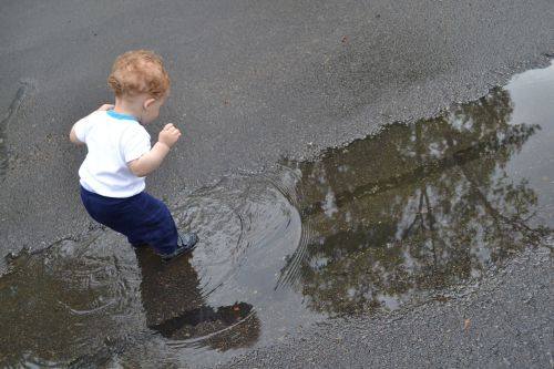 puddles child kid