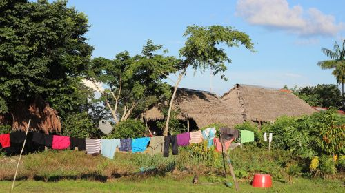 puerto inirida colombia clothes lying