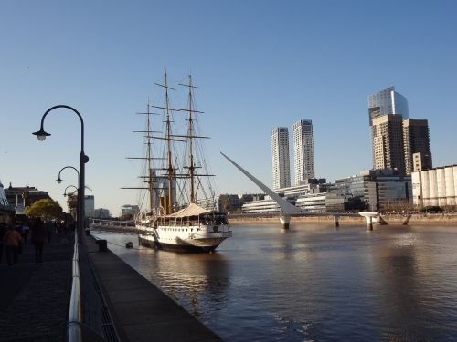 puerto madero channel buenos aires