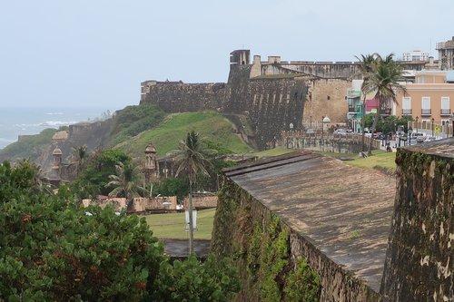 puerto rico  san juan  fortress