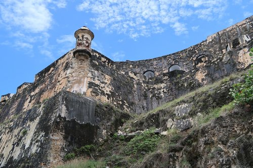 puerto rico  san juan  fort