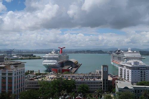 puerto rico  san juan  harbor