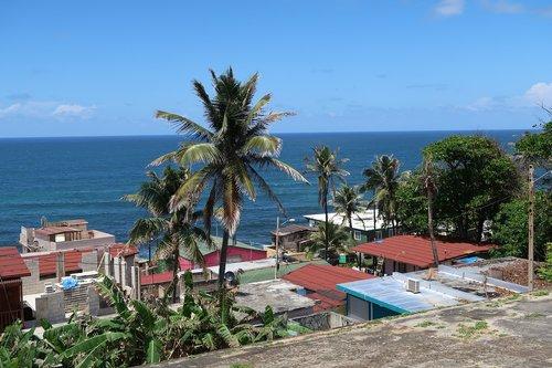 puerto rico  san juan  ocean