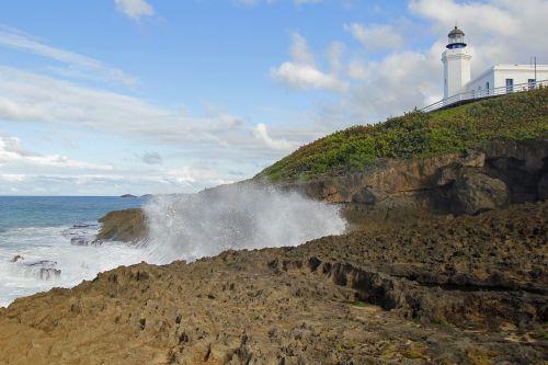 puerto rico el faro lighthouse