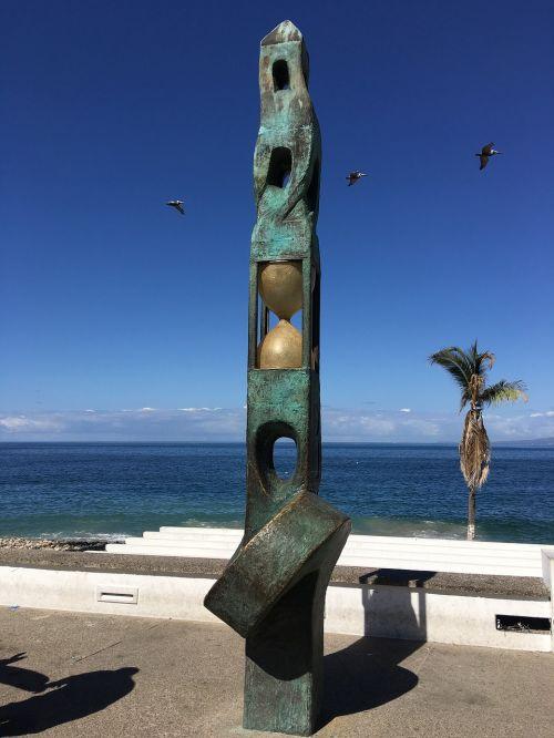 puerto vallarta art beach