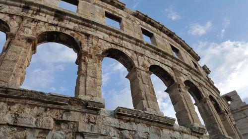 pula antiquity amphitheater