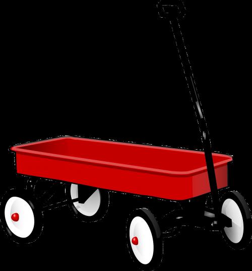 pull wagon trolley