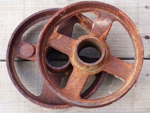 pulley mechanism vintage