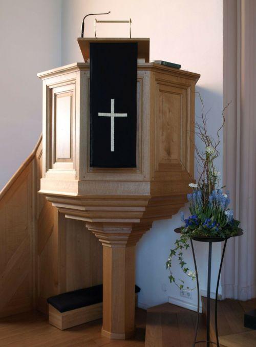 pulpit sermon protestant