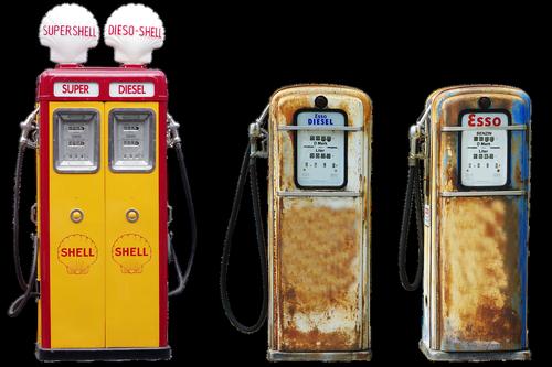 pump  petrol  shell
