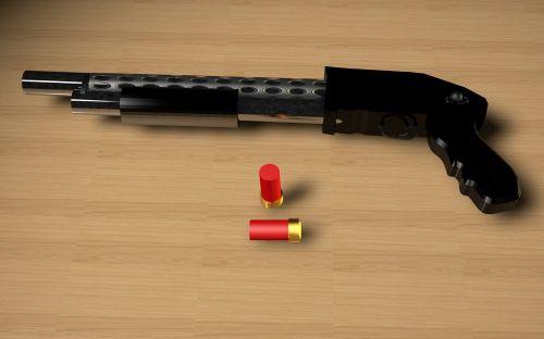 pumpgun weapon ammunition