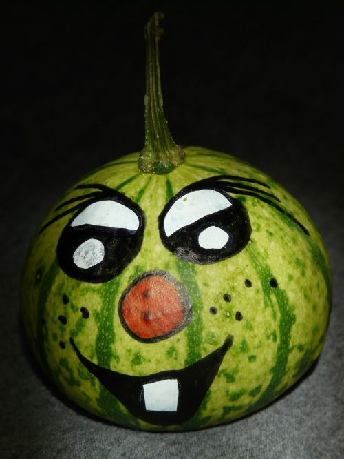 pumpkin face cheeky