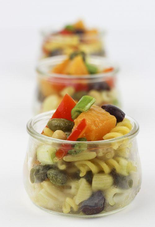 pumpkin pasta salad capture