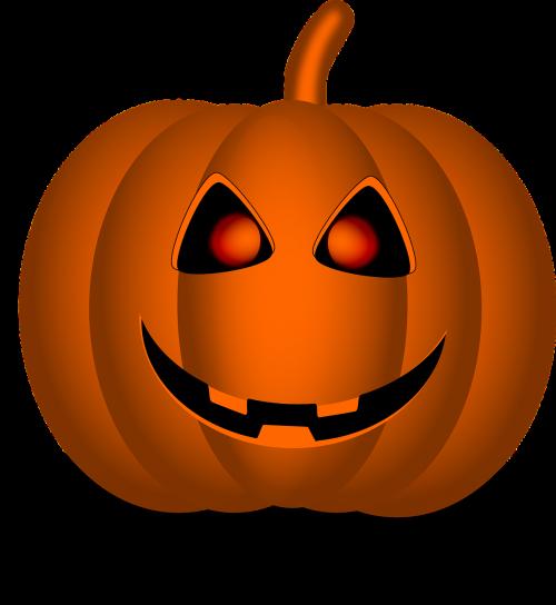 pumpkin halloween face