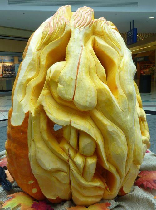 pumpkin carved halloween