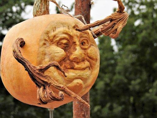 pumpkin  cut tear  face