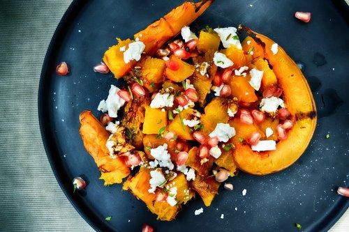 pumpkin  sweet potato  salad