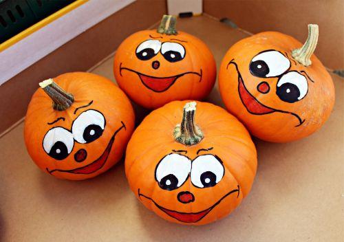 pumpkin pumpkin face autumn