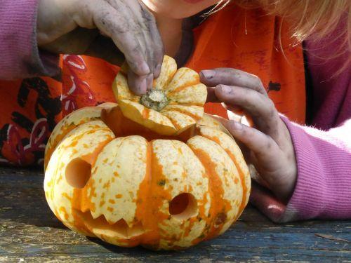 pumpkin tinker children