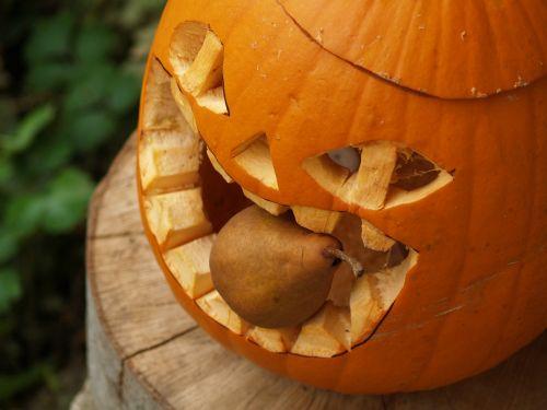 pumpkin helloween pear