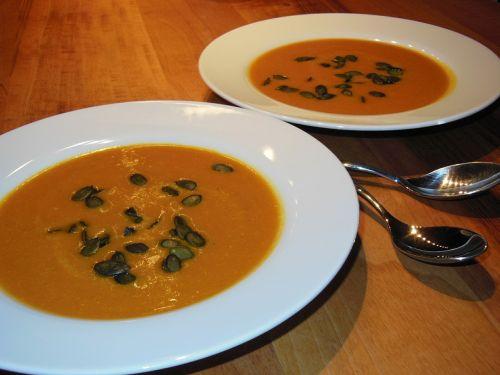 pumpkin soup evening