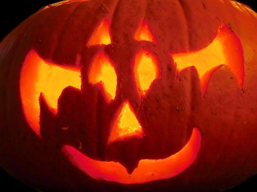 pumpkin halloween ghost