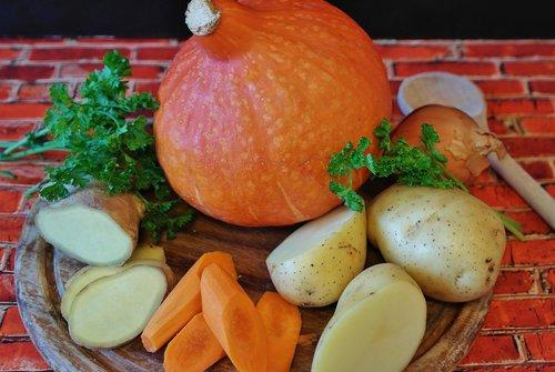 pumpkin hokkaido  potato  parsley