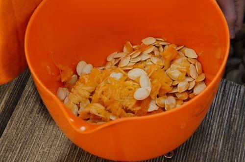 pumpkin seeds frisch inner