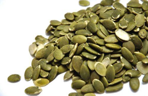 pumpkin seeds kernels green