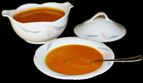 pumpkin soup soup soup bowls