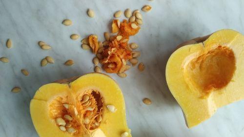 pumpkin soup butternut cores