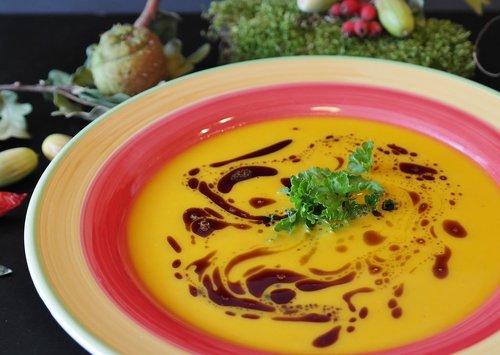 pumpkin soup  soup  hokkaido soup