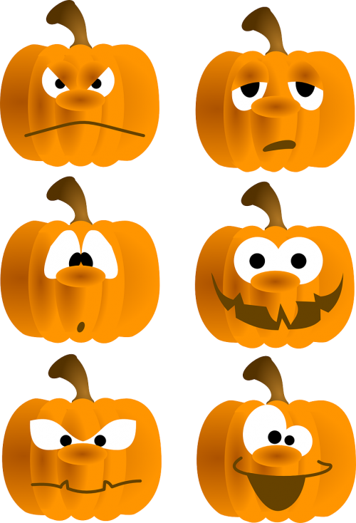 pumpkins faces fun