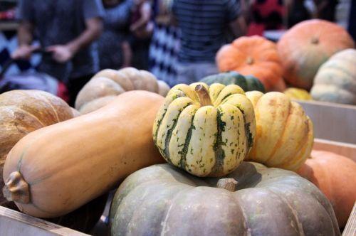 Pumpkins At The Farmer's Market