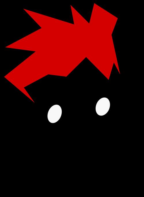 punk man redhead