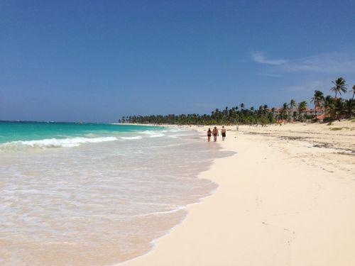 punta cana beach ocean